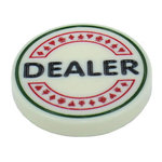 Dealerbutton Diamond voor poker