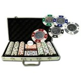 Pokerset: 300 AKQJ metal inlay design_