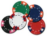 Clay Crown poker chips