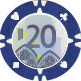 Suits Euro pokerchips_