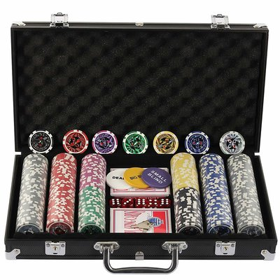 Ultimate poker set 300 chips