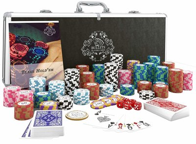 Bullets 500 poker set
