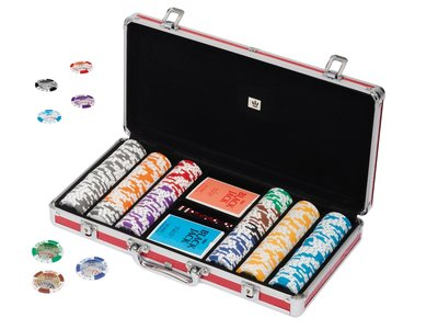 Pokerset 300 43mm oversized Euro chips