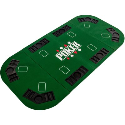 Pokerblad 160 x 80 groen