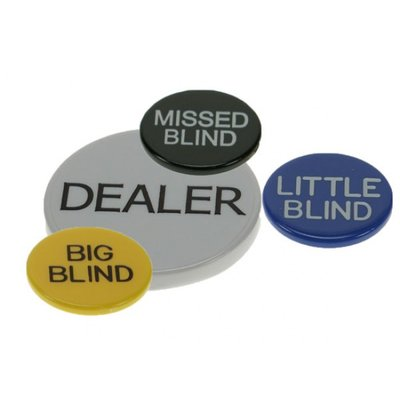 Dealer button set standaard