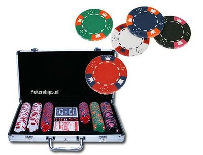 Clay Crown 300 poker set