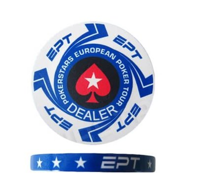 Keramische dealerbutton EPT