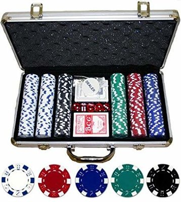 Dice Design 300 pokerset