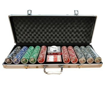 Starter poker set Royal Flush 500