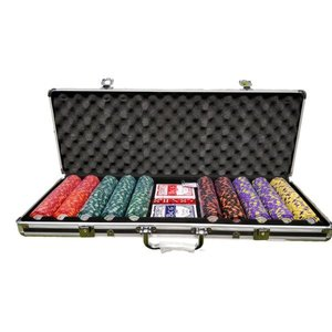 Monte Carlo 500 poker set