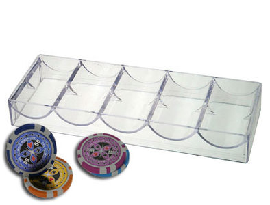 Chiptray voor 100 pokerfiches
